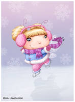 Ice Fairy by LiaSelina