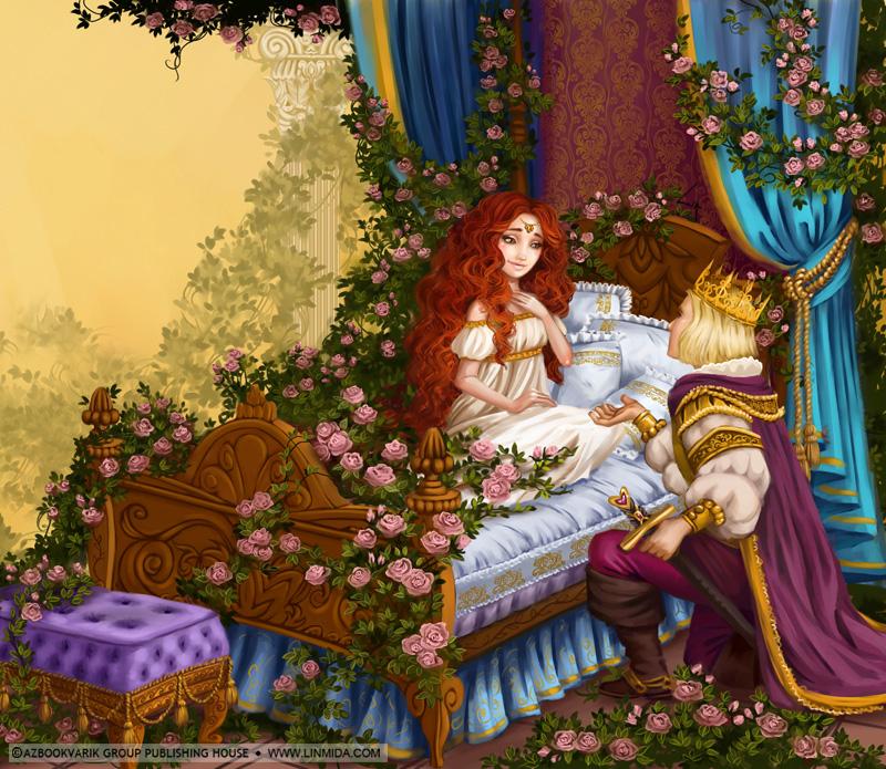 фото из сказки спящая красавица.