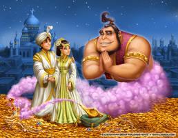 Aladdin Cover by LiaSelina