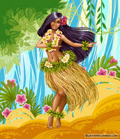 Hawaii dance by LiaSelina