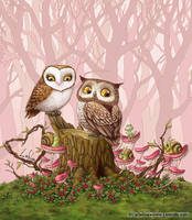 Owl Love by LiaSelina