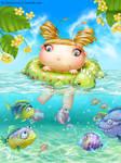Swimming Fairy-Bug