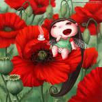 Poppy Fairy-Bug by LiaSelina