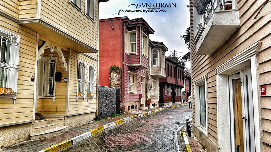 Kanlica street by quwen