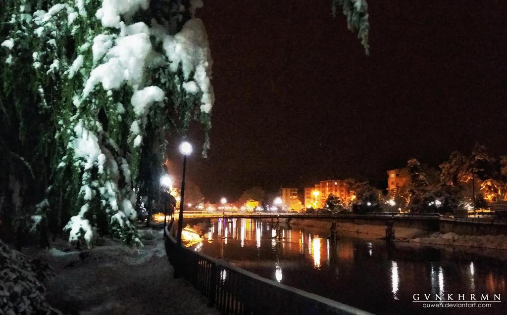 night lights by quwen