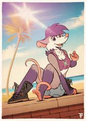 [AT] Beach passm! by FOXnROLL