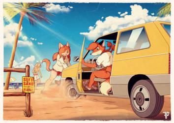 Stuck! by FOXnROLL