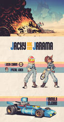 Radical Racer - Jacky ''One-Eyed'' Jarama