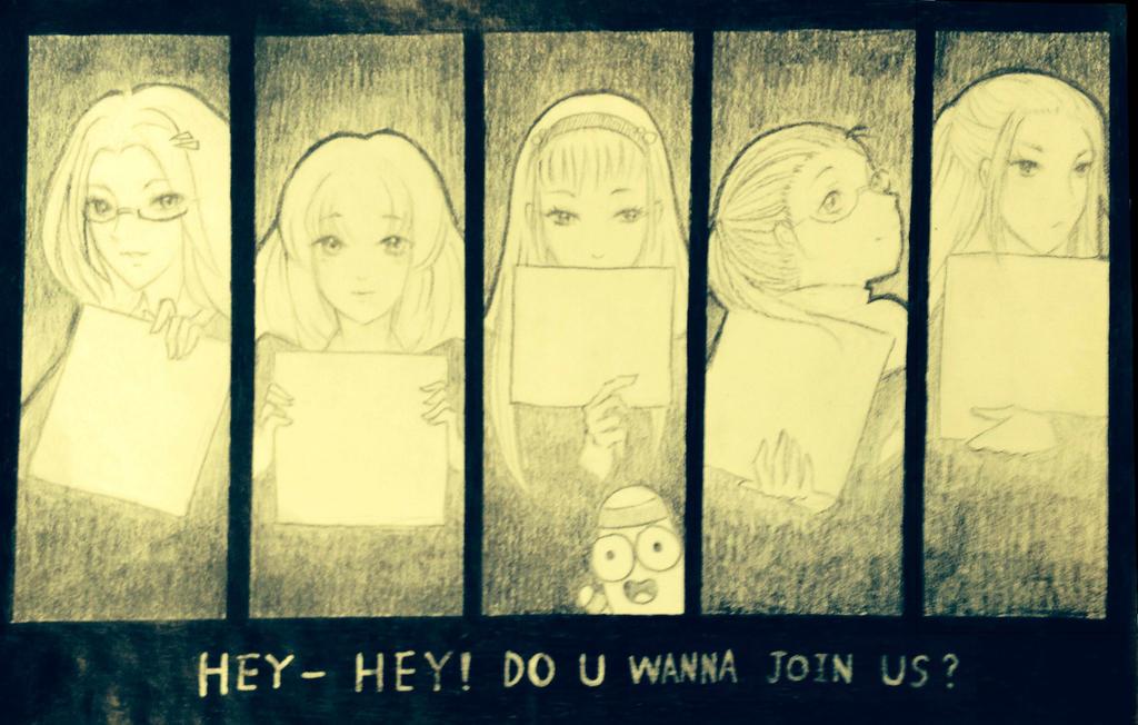 Club pamphlete by DrawHui