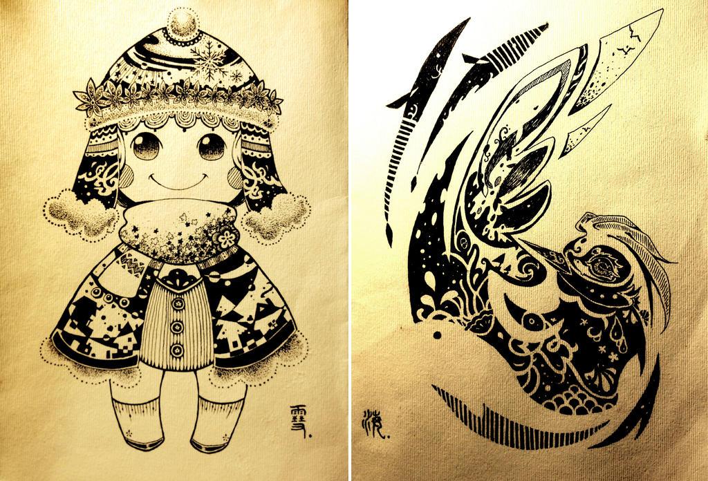 My art homework2 by DrawHui