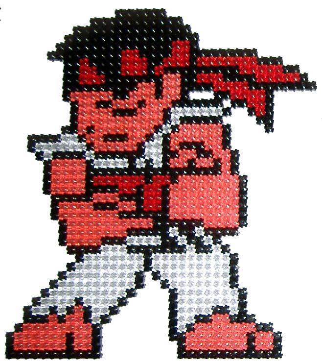 Ryu Chibi Sprite By Snukastyle On DeviantArt