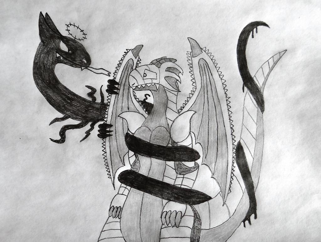 Mimicc Traps Dregonox by ReptanArtWar