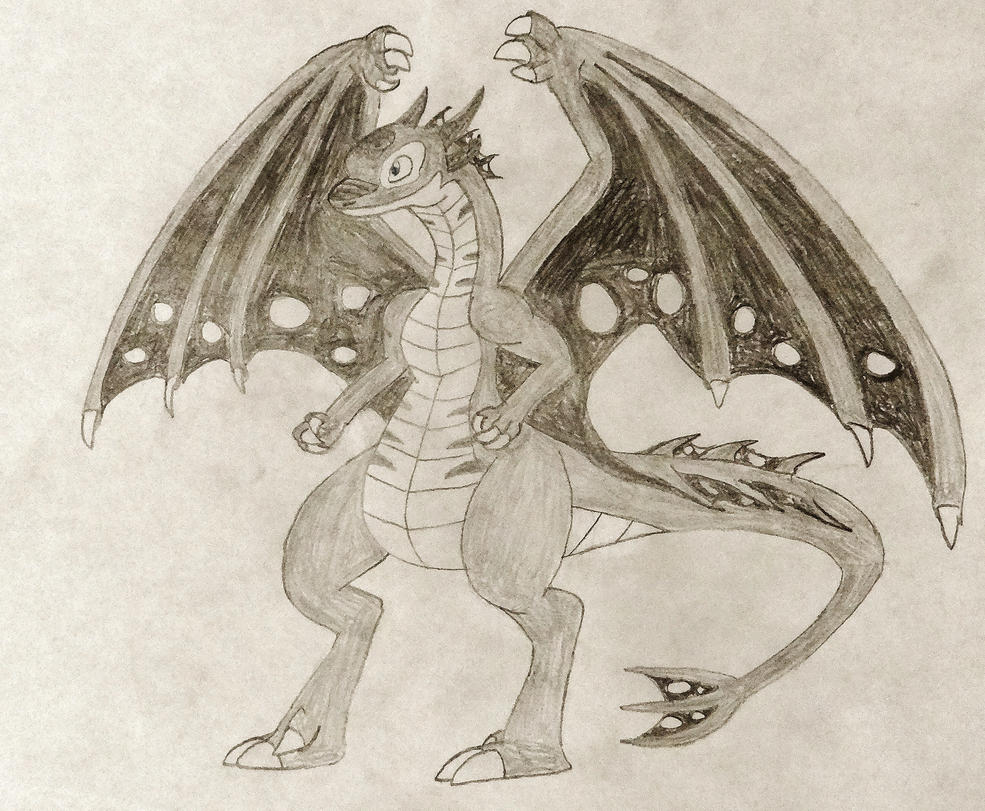 Nexus Dragon Alex by ReptanArtWar