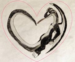 Dregonox's Heart by ReptanArtWar