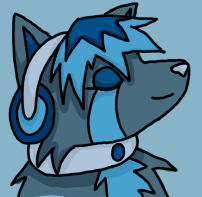 Music wolf by why-so-cirrus