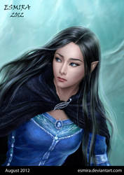 Luthien - Portrait by Esmira