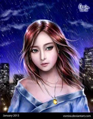 Tears or just rain? by Esmira