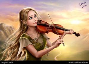Music Of Sunrise - portrait