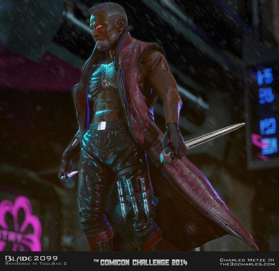 Blade 2099 Beauty by mrhobo87