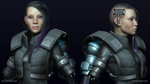 Assault Cyborg: Hi Poly