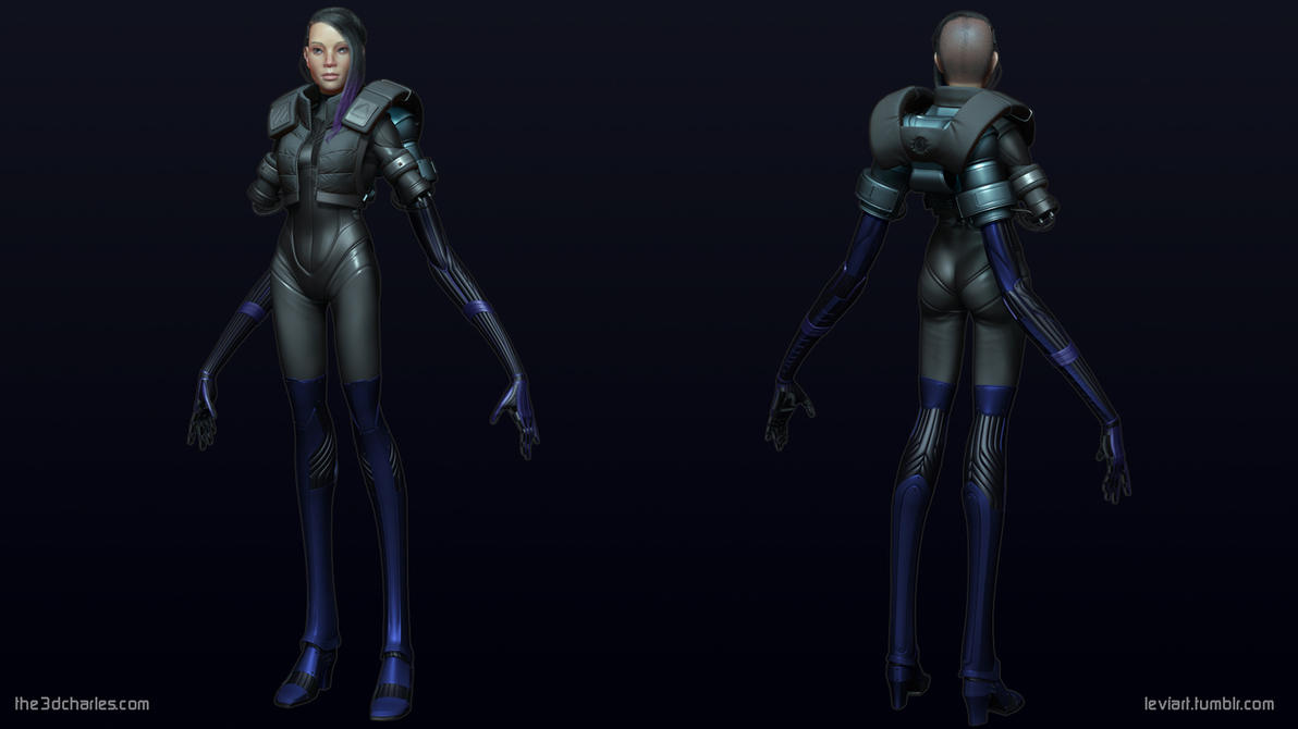 Assault Cyborg: Full Body Hi Poly by mrhobo87
