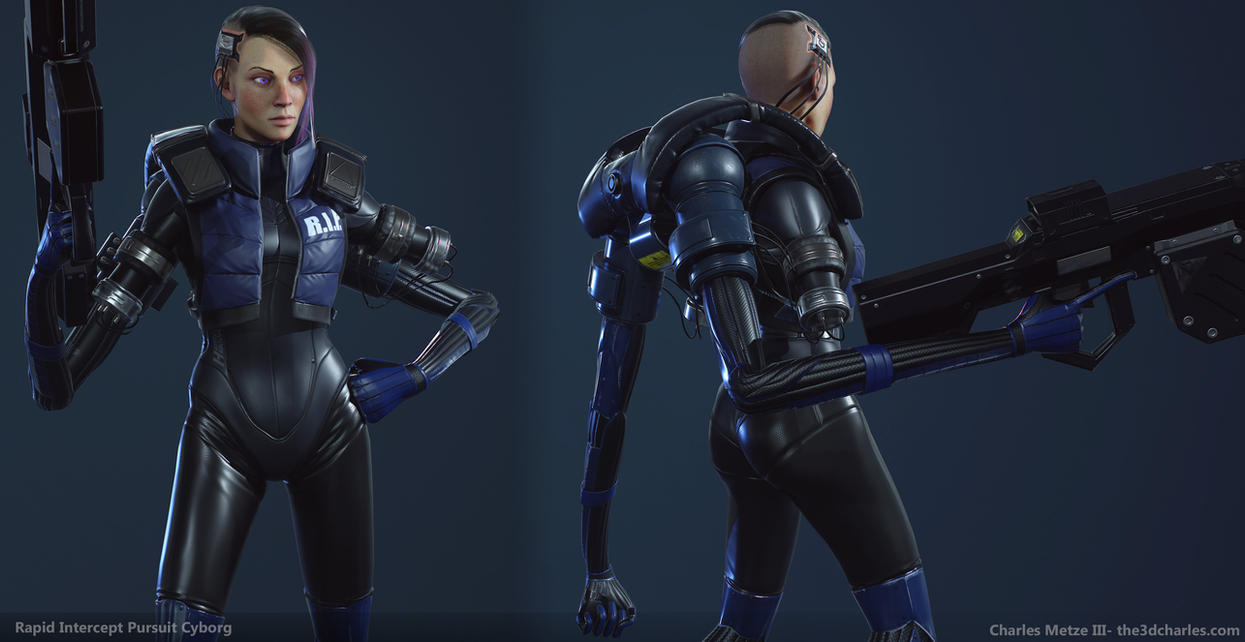R.I.P Force- Assault Cyborg Details by mrhobo87