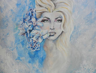 Frozen (Elsa) by MissMandyMotionless