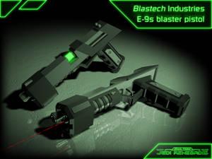 JR - E-9s Blaster Pistol