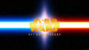 Star Wars 41st Anniversary Wallpaper