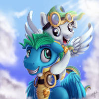 Top Bolt- Couple of Wings by VittorioNobile