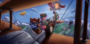 The Flying Duchesses by VittorioNobile