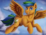 Thunder Wing [ Oc commission ]