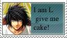 I am L gve me CAKE by animationdragon