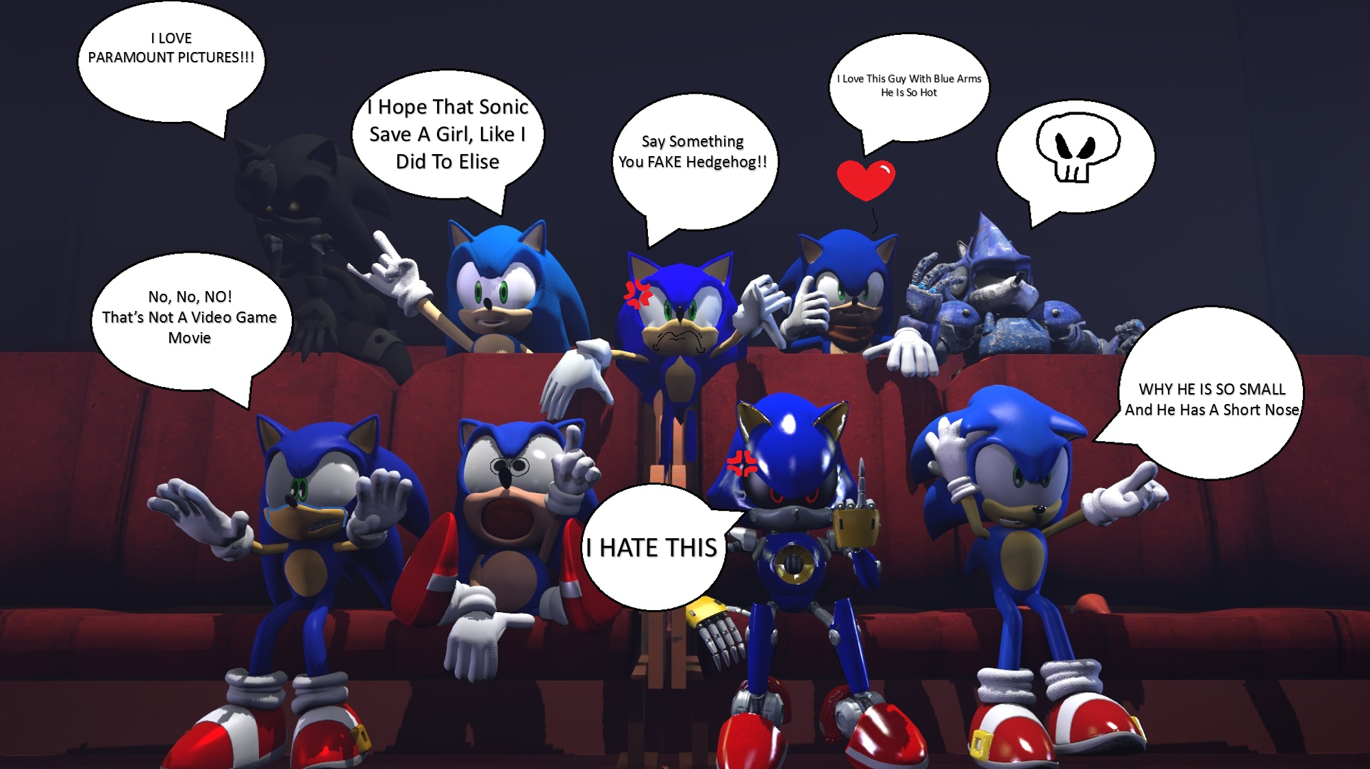 When The Old Design Sonic Movie Was Released By Angrygermankidoble On Deviantart