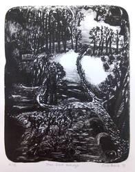 Stern Grove Pathways by blackboard-ofnight