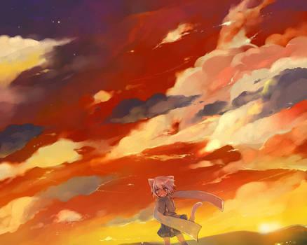 sunset thoto