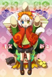 AkeOme by kamiyoshi