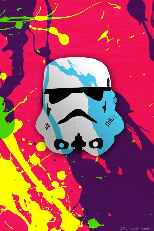 CMYK Stormtrooper by ryanwell