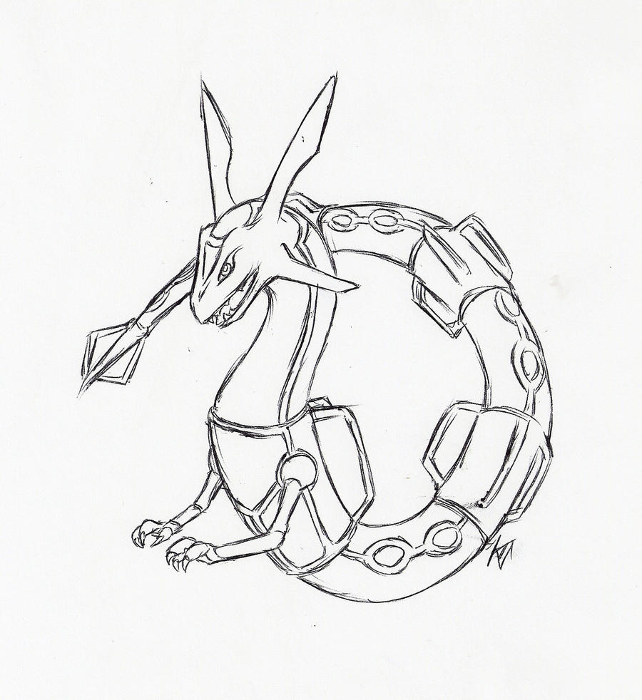 Rayquaza by susiron on deviantart for Rayquaza coloring pages