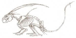 Mikken skeleton by Susiron