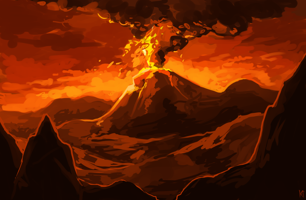 Volcano by Susiron