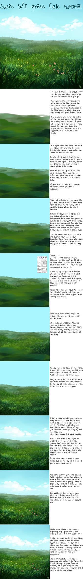 SAI Grass Field Tutorial