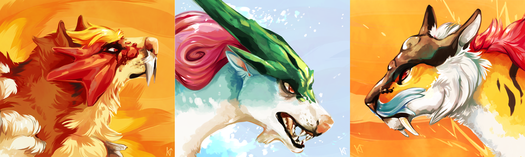 The Legendary Dogs by Susiron on DeviantArt