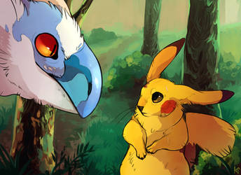 Pokemon Scene Redraw by Susiron