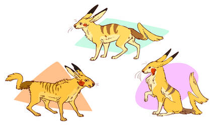 Pikachu Variants