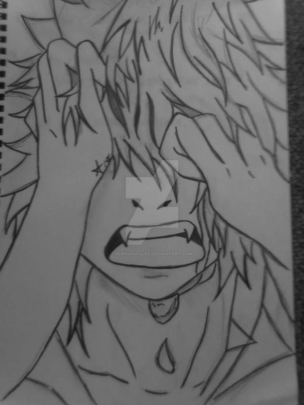 Anime Boy Crying By Fursona4life On Deviantart