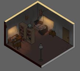 (#001CK)Joe's Home by softmio