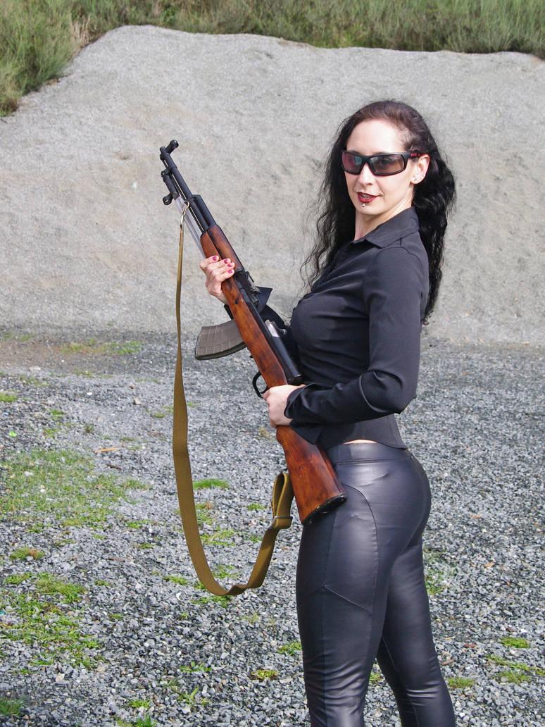 Girl with Rifle 7
