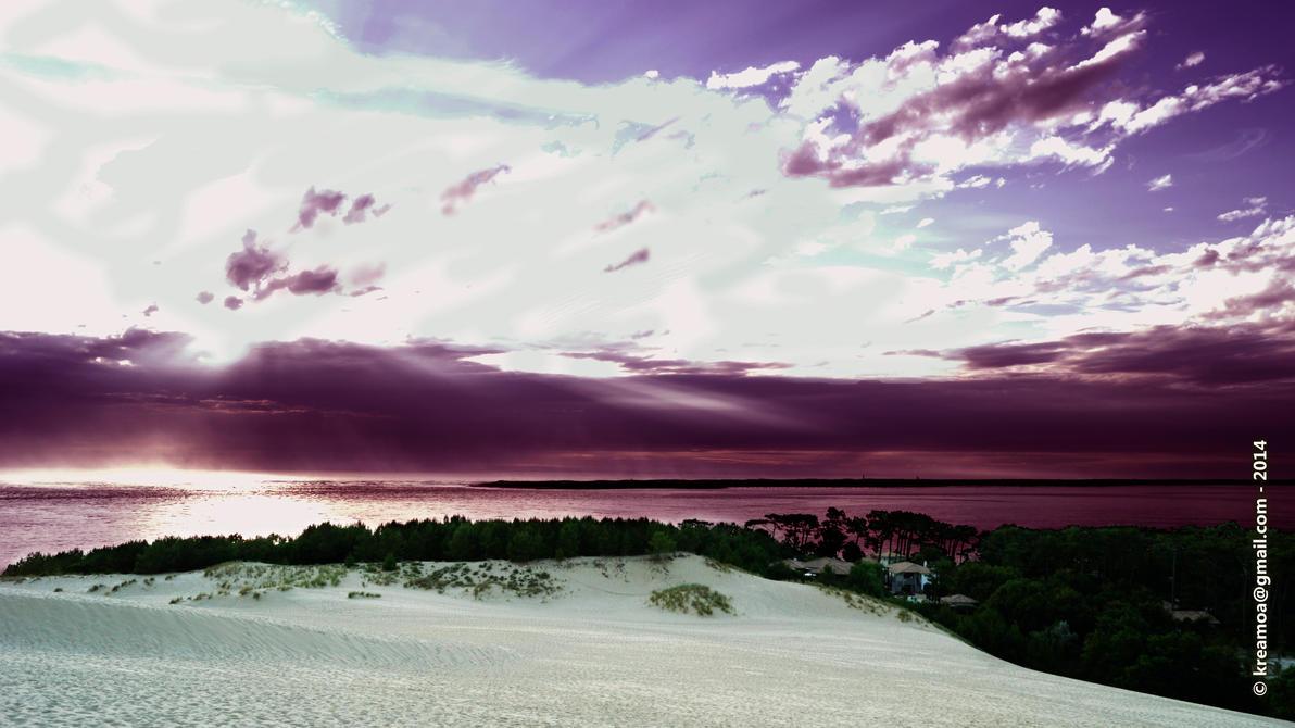 Dune du Pyla by FrLegolas