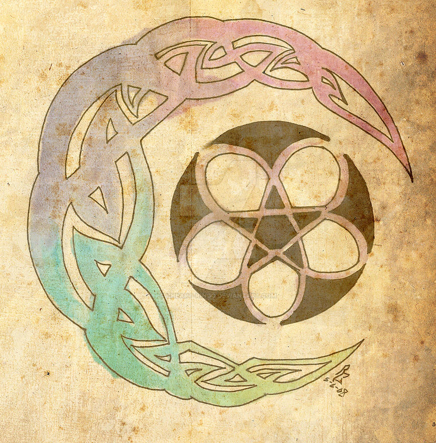 Celtic moon star thing by i-heart-ringo on DeviantArt